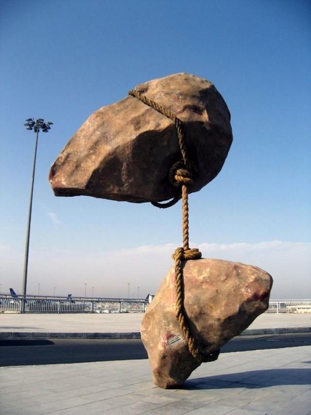 Летящ камък, Египет