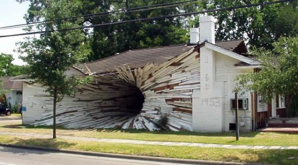 The Hole-House-Тексас-САЩ