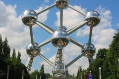 Монументът-Атомиум-Брюксел-Белгия