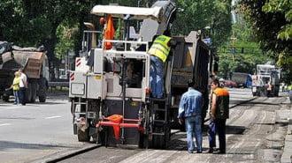 Казанлък наля близо 1,5 млн. лв. в ремонти на улици и пътища