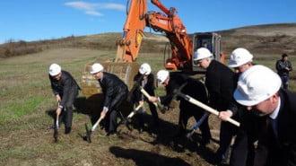Първа копка на регионалното депо край Велико Търново и Плевен