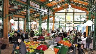 Общинският пазар в Стара Загора обновен по JESSICA