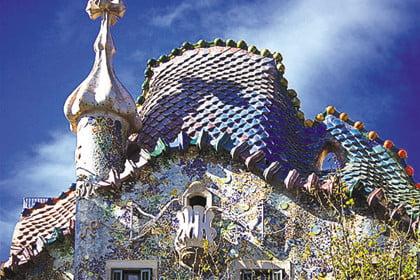 Casa Batllo Gaudi, Барселона (Испания)