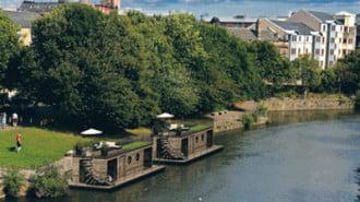 В Единбург ще строят плаващи домове със соларно захранване