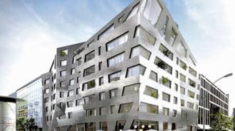 Самопочистваща се сграда  ще подобрява въздуха  в Берлин