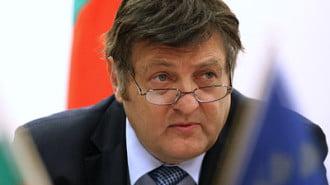 министърът на инвестиционното проектиране Иван Данов