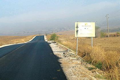 Успешно бе рехабилитиран пътят между Поляново и Константиново