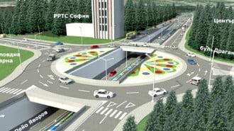 """След спорове проектът за кръстовище на """"Лъвов мост"""" все пак стартира"""