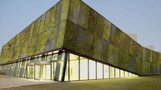 Биобетон облича сградите в зеленина