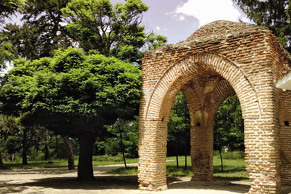 """В парк """"Тюлбето"""" в Казанлък се намира Тракийската гробница"""