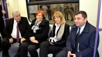 10 нови метровлака тръгнаха в София
