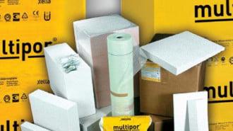 Строителен продукт на 2013 г.:  Топлоизолационни плочи Multipor