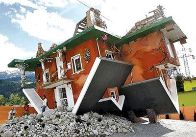 Архитектурата отправя предизвикателство на гравитацията
