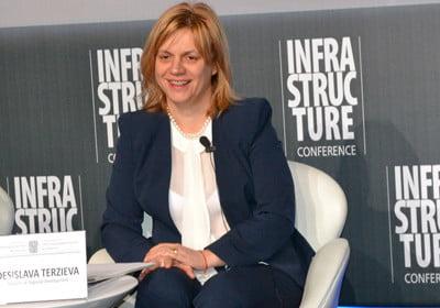 министърът на регионалното развитие Десислава Терзиева