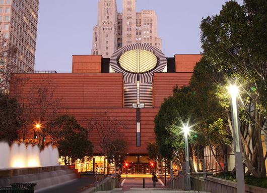 Музей на модерното изкуство в Сан Франциско, Калифорния, арх. Марио Бота