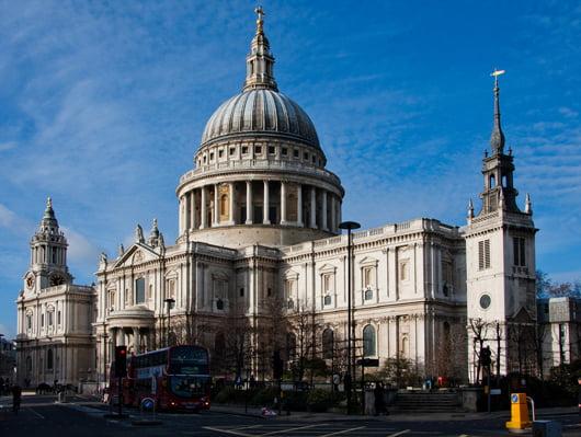 """Катедралата """"Сейнт Пол"""" в Лондон, Англия"""
