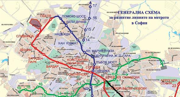 Stolichnoto Metro S Neefektivna Shema Www Stroitelstvoimoti Com