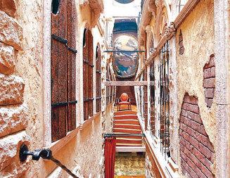 Архитектурни шеги: Венециански дворец, скрит в острилка за моливи