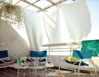Фантазия и практичност си дават срещат на балкона