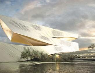Спирала на знанието е вдъхновила дизайнерите на библиотеката в Далиан