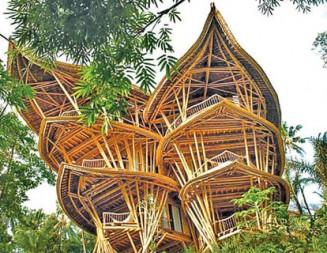 Бамбукова къща в Бали – вдъхновение от природата и модел за устойчиво строителство