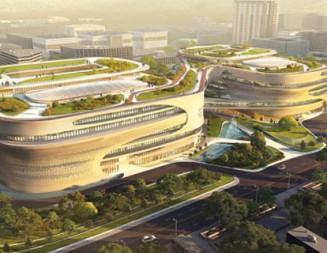 Умни технологии и устойчивост бележат най-новата сграда на Заха Хадид
