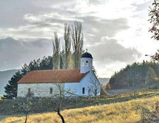 Връщат блясъка на 200-годишен храм в благоевградското село Лешко
