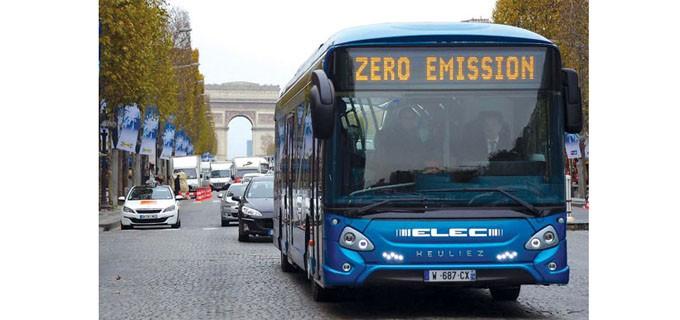 Електробусът вече е бил тестван цяла година в градския транспорт на френската столица