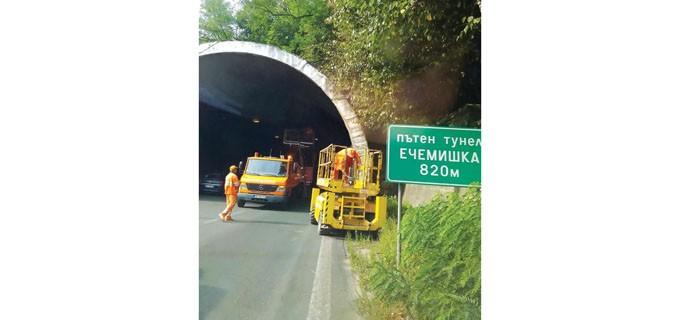 """Откакто са построени тунелите по """"Хемус"""" е имало проблеми със състоянието им, които така и не са били отстранени."""