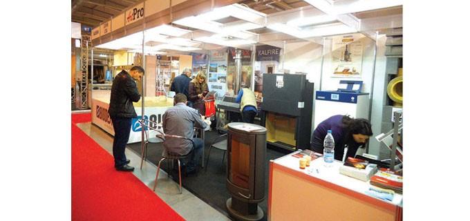 След студената зима информацията за модерните системи за отопление още от първия ден на форума бе една от най-търсените