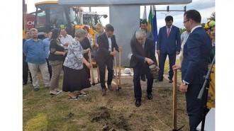 Министърът на околната среда и водите Нено Димов и кметът на Добрич Йордан Йорданов дадоха старт на строителните дейности по проекта