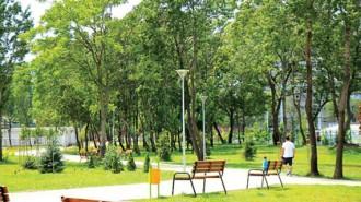 """В момента благоустроена е частта от парка в район """"Илинден"""""""