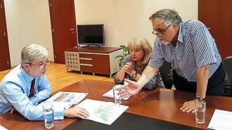 """Министър Димов проведе разговори и с представители на компанията """"Пролес инженеринг"""", изработила новия план за управление на НП """"Пирин"""""""