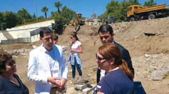 Кметът на Пловдив Иван Тотев инспектира периодично работата по Голямата базилика