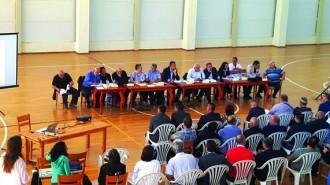 Петте варианта за преминаване на магистралата през дефилето бяха обсъдени с жителите на Симитли и представители на неправителствени, бизнес и обществени организации