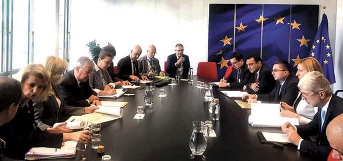 """В рамките на срещата в Брюксел бе представено процедурното изпълнение на проекта за АМ """"Струма"""""""