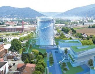 """Издигат """"устойчива енергийна кула"""" в Хайделберг"""