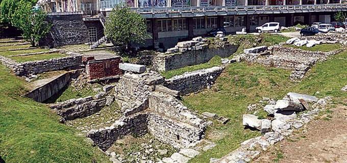 """Реставрацията на Античния форум ще се извършва успоредно с предстоящата реконструкция на пл. """"Централен""""."""