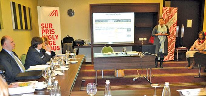 """Зам.-министърът на регионалното развитие и благоустройството Малина Крумова представи приоритетите и предизвикателствата пред българския ВиК отрасъл на форум """"Водна инфраструктура"""" в столицата"""