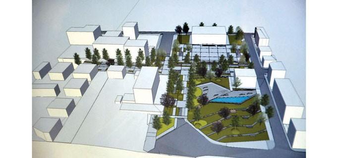 Проектът на площада в Царево