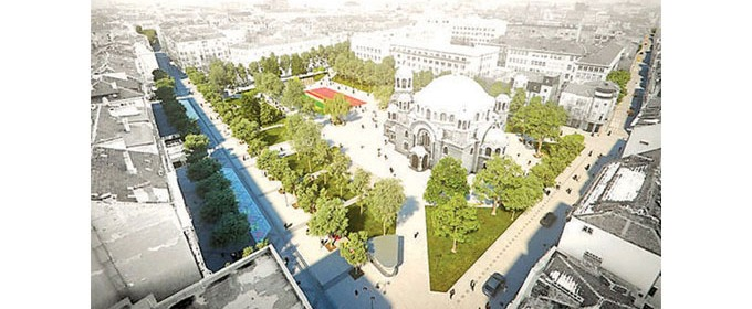 Знакови за централната част на столицата места ще бъдат свързани в обща система с идентичен градски дизайн