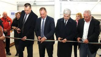 Министър Нено Димов и кметът на Банско Георги Икономов прерязаха лентата на съоръжението
