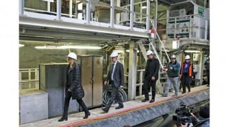 В проверката на строителството на една от метростанциите на третия лъч участваха столичният кмет Йорданка Фандъкова и министрите на екологията Нено Димов и на транспорта Ивайло Московски