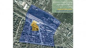 """Конкурсът е за зоната основно на юг от Централна гара и една от основните й оси - северния край на бул. """"Мария Луиза"""""""