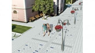 """Новата улица """"Богориди"""" в Бургас ще бъде с артелементи, цветя и сянка за отдих"""