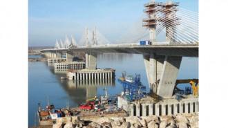 Така изглеждаше районът при строежа на втория мост над река Дунав при Видин - Калафат