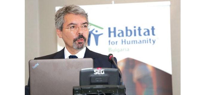 Минчо Бенов, национален директор на Habitat for Humanity Bulgaria