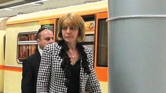 Кметът на София Йорданка Фандъкова инспектира регулярно работата и експлоатацията на столичното метро