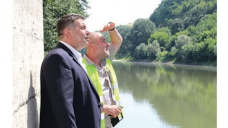 Областният управител на Русе Галин Григоров участва в инспекцията на моста над р. Янтра при село Кривина
