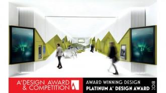 """Проектът за новите клонове на Банка ДСК на ДА АРХИТЕКТИ беше награден с най-високото отличие - Platinum A' Design Award, в категорията """"Интериорен и изложбен дизайн"""" от Международната дизайн академия и голямото жури на конкурса Design Award & Competition, съставено от над 200 влиятелни международни критици, утвърдени дизайнери, водещи академици и известни предприемачи."""